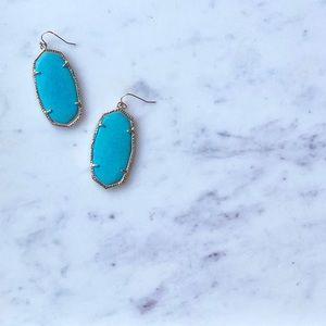 Kendra Scott Danielle Earrings - Turquoise